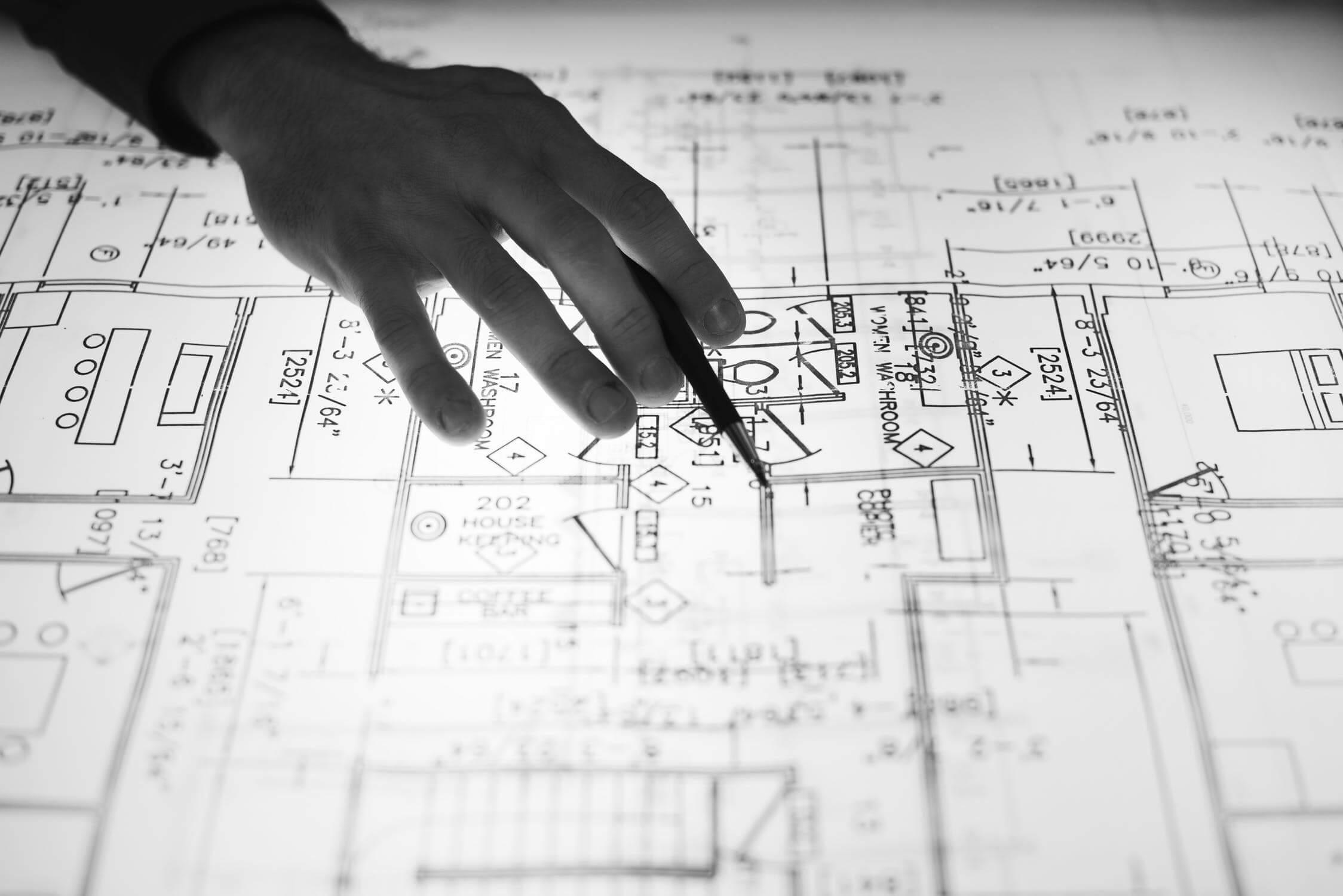 שכפול מסמכים ותכניות בנייה